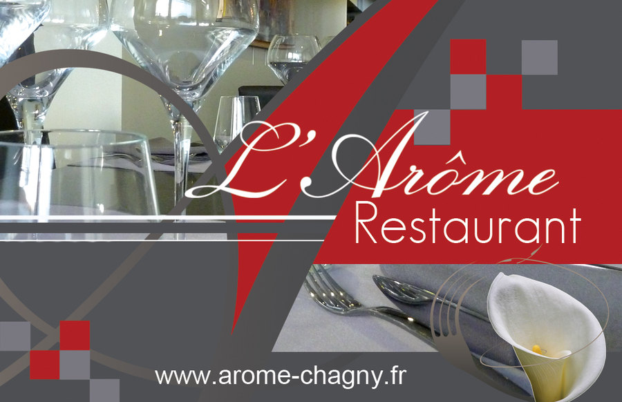 Carte De Visite Restaurant LArme